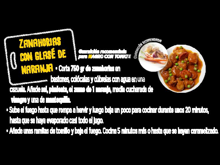 receta zanahorias